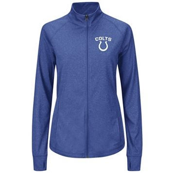Plus Size Majestic Indianapolis Colts Track Jacket