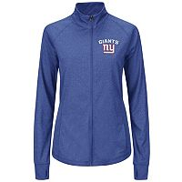 Plus Size Majestic New York Giants Track Jacket