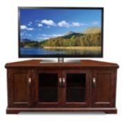 Leick Furniture Cabinet Corner TV Stand