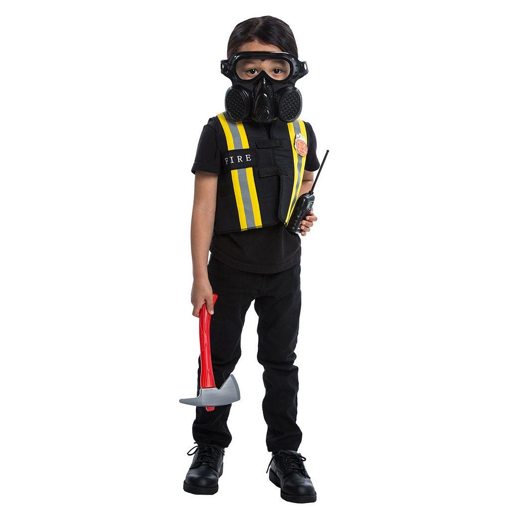Youth Fireman Costume Accessory Kit