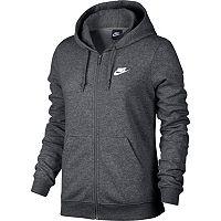 Women's Nike French Terry Zip Up Hoodie