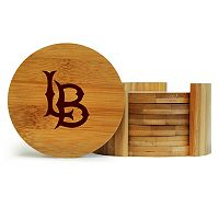 Long Beach State 49ers 6-Piece Bamboo Coaster Set