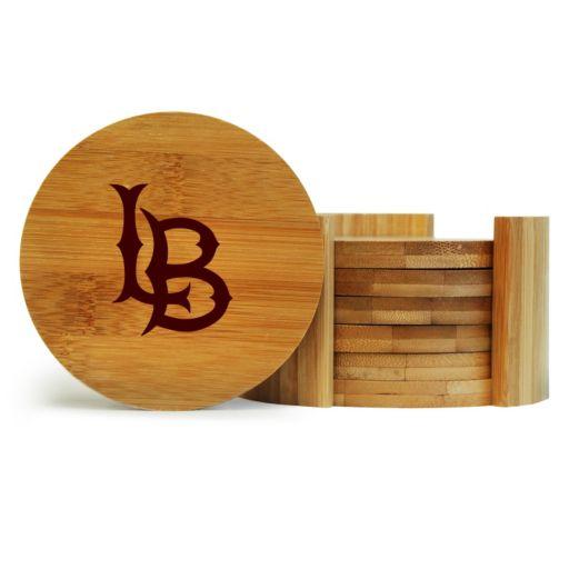 Long Beach State 49ers 6-Piece Bamboo Coaster Set