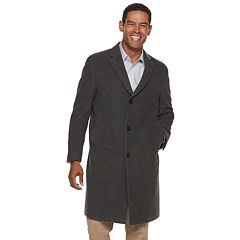 Men's Chaps Classic-Fit Wool-Blend Top Coat