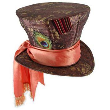Disney's Alice in Wonderland Kids Mad Hatter Costume Hat