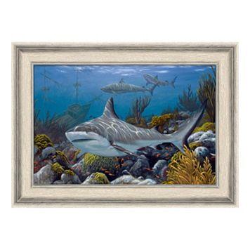Reflective Art Treasure Hunters Framed Wall Art