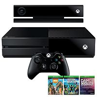 Xbox One 500GB Bundle with Kinect & 3 Games