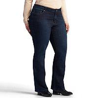 Plus Size Lee Modern-Fit Straight Leg Jeans