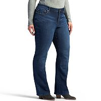 Plus Size Lee Modern-Fit Straight Leg Jeans