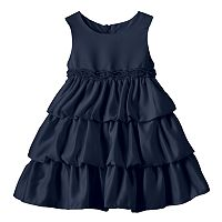 Baby Girl Princess Faith Sleeveless Tiered Dress