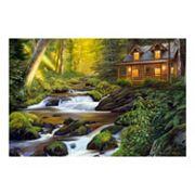 Reflective Art Creekside Comfort Canvas Wall Art