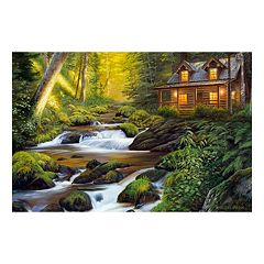 Reflective Art Creekside Comfort Canvas Wall Art