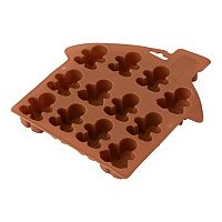 Wilton Silicone Gingerbread Man Cookie Pan