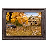 Reflective Art Old Timers Framed Wall Art
