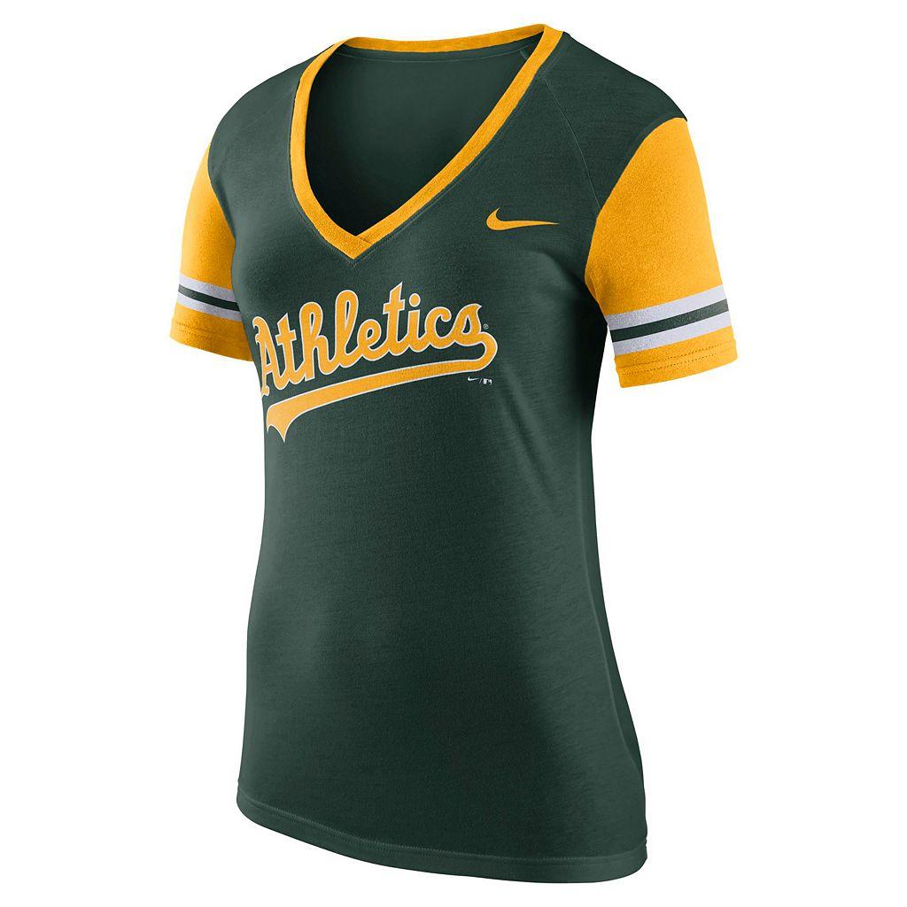 Women's Nike Oakland Athletics Fan Tee
