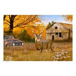 Reflective Art Old Timers Canvas Wall Art