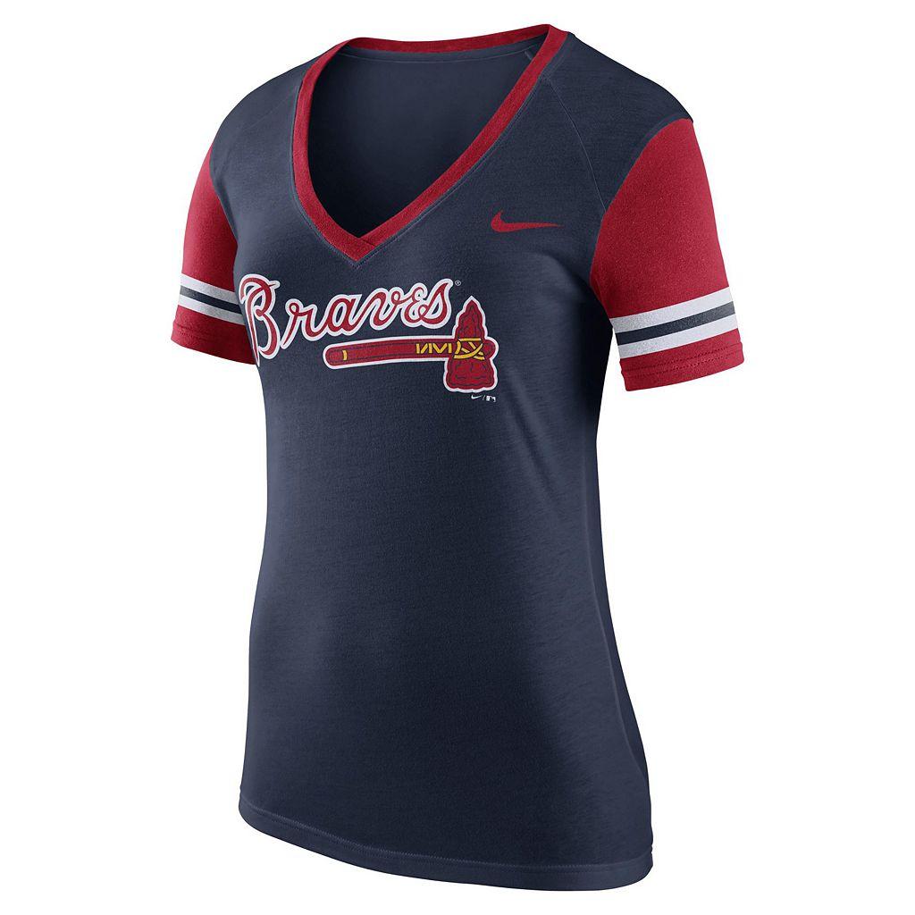 Women's Nike Atlanta Braves Fan Tee