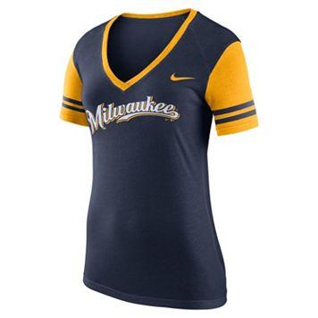 Women's Nike Milwaukee Brewers Fan Tee
