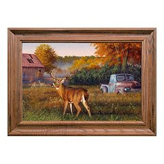 Reflective Art Vintage Framed Wall Art