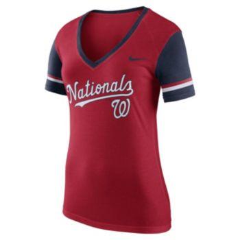 Women's Nike Washington Nationals Fan Tee