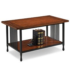 Leick Furniture Slatted Coffee Table