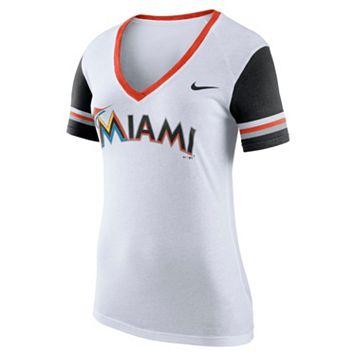 Women's Nike Miami Marlins Fan Tee