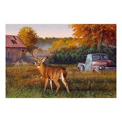 Reflective Art Vintage Canvas Wall Art