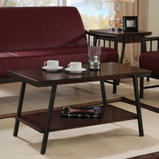 Leick Furniture Canted Coffee Table