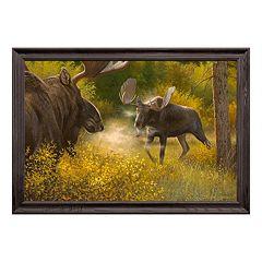 Reflective Art Bring It Moose Framed Wall Art