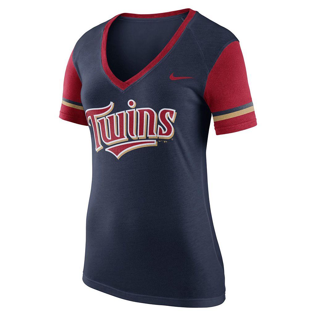 Women's Nike Minnesota Twins Fan Tee