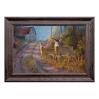 Reflective Art Sunday Stroll Framed Wall Art