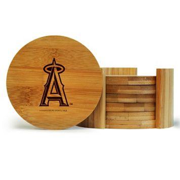 Los Angeles Angels of Anaheim 6-Piece Bamboo Coaster Set