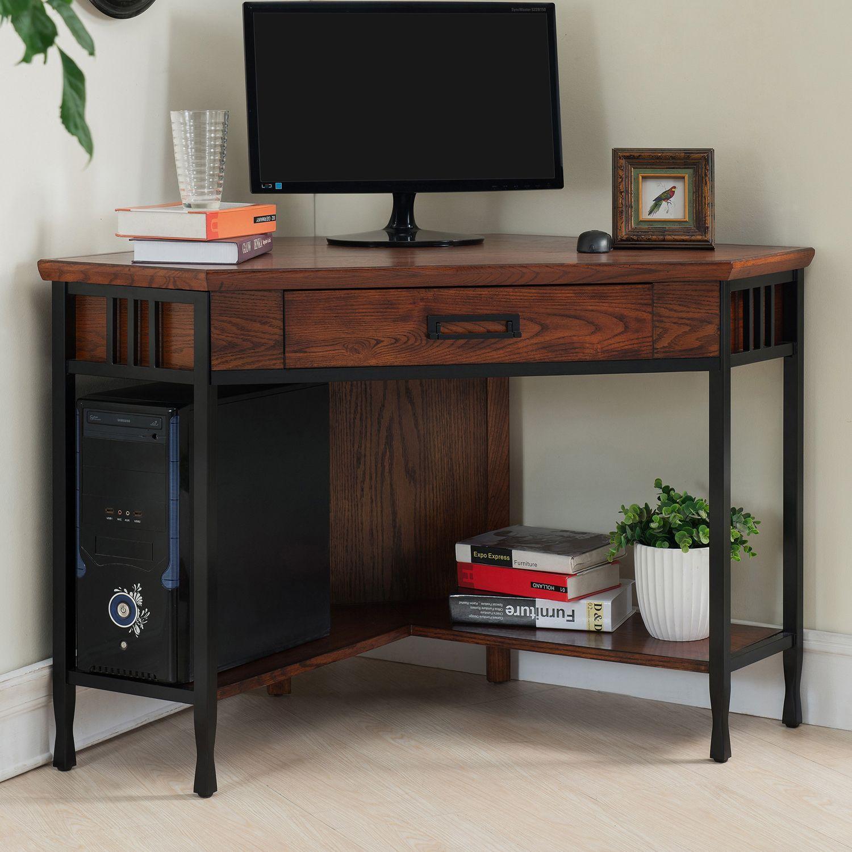 leick furniture corner office desk - Leick Furniture