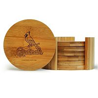St. Louis Cardinals 6-Piece Bamboo Coaster Set