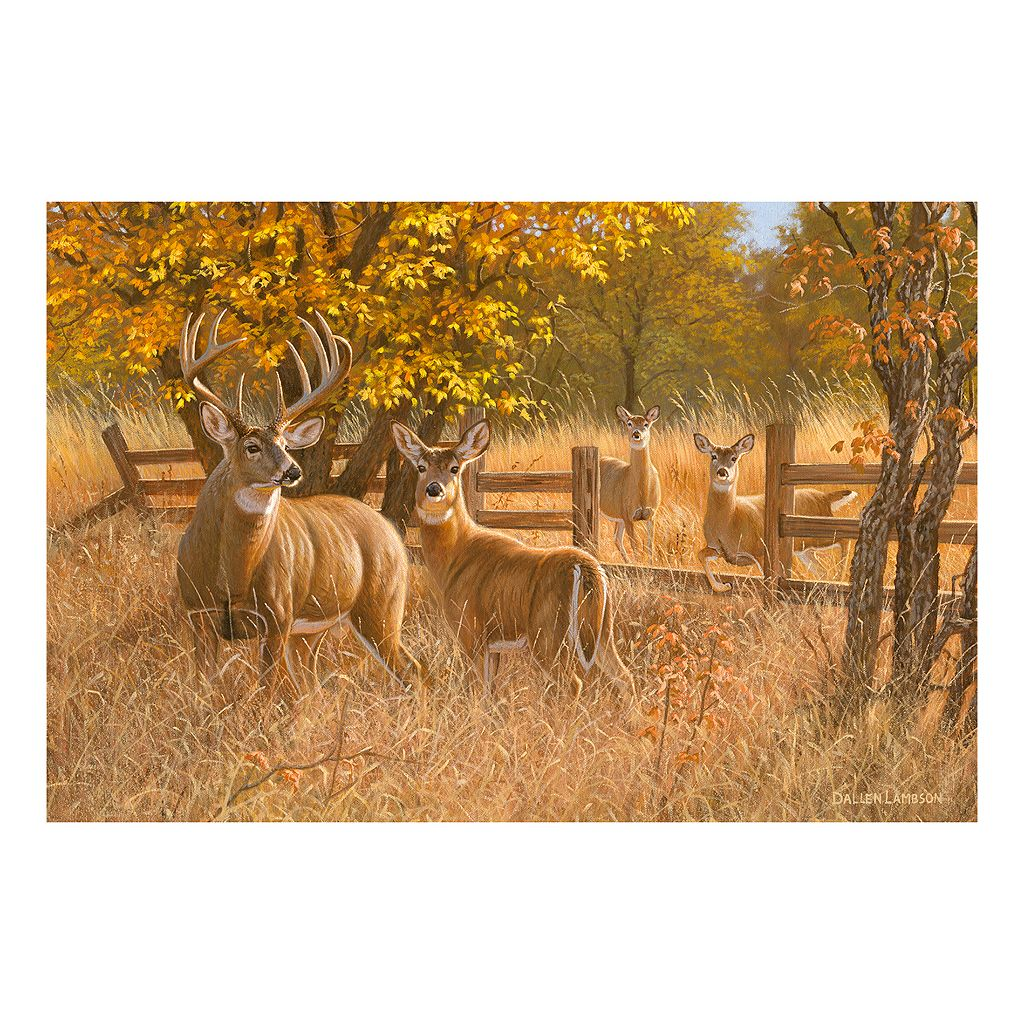 Reflective Art Ladies In Waiting Canvas Wall Art