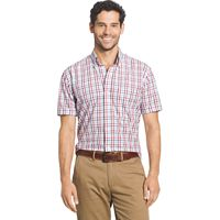 Big & Tall Arrow Hamilton Classic-Fit Plaid Poplin Button-Down Shirt