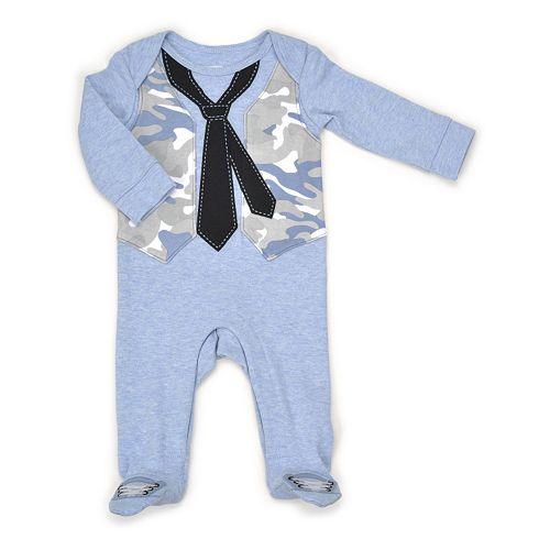Baby Boy Vitamins Baby Camo Vest Coverall