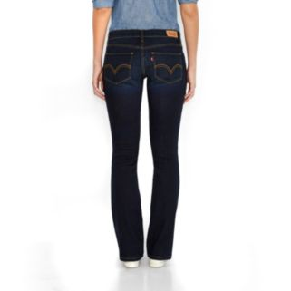 Women's Levi's 524 Faded Bootcut Jeans