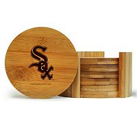 Chicago White Sox 6-Piece Bamboo Coaster Set