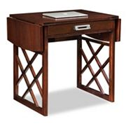 Leick Furniture X-Frame Drop Leaf Desk