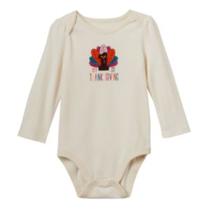 Baby Girl Jumping Beans® Thanksgiving Bodysuit