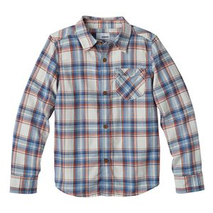 Boys 4-7 SONOMA Goods for Life™ Plaid Flannel Button Down Long Sleeve Shirt