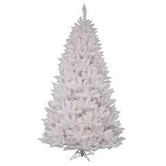 Vickerman 4.5-ft. Pre-Lit Sparkle White Spruce Artificial Christmas Tree