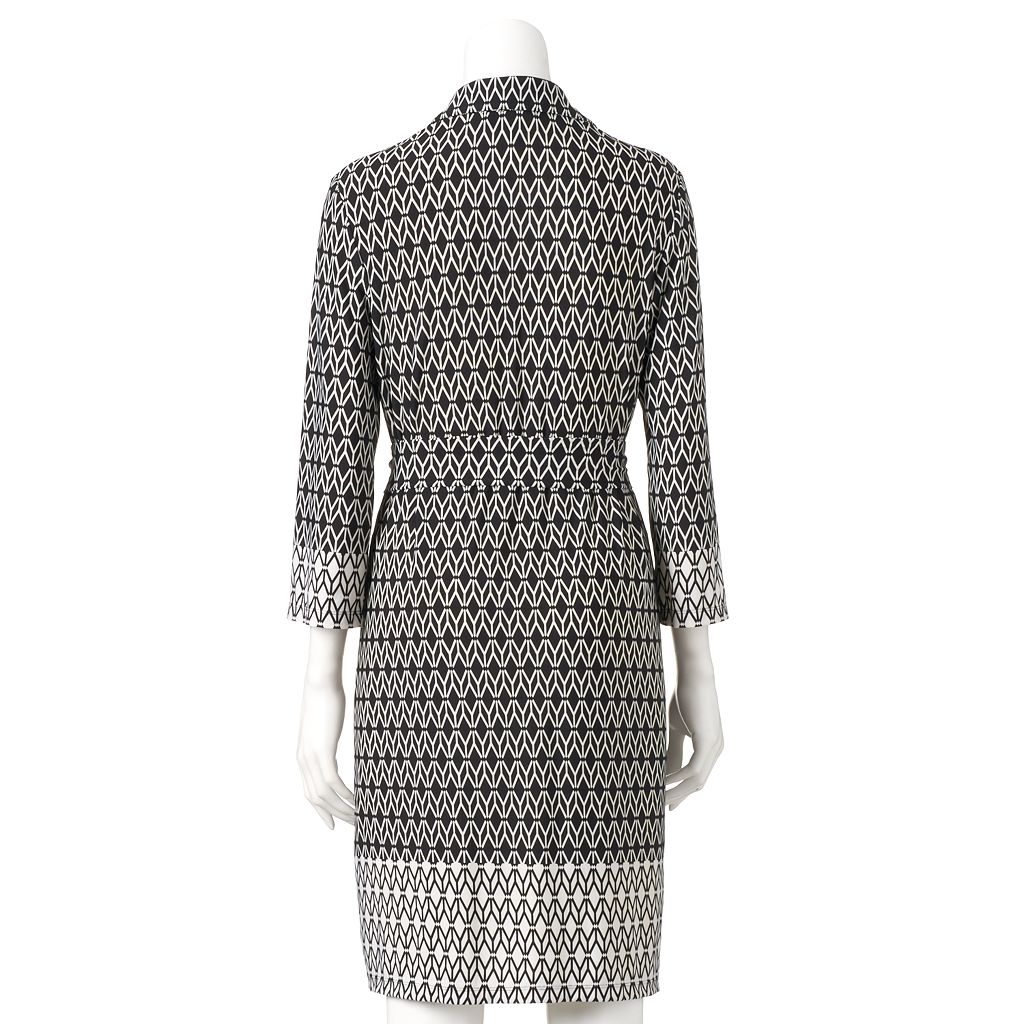 Women's Ronni Nicole Geometric Shirtdress