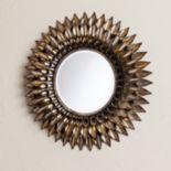 Luella Round Decorative Wall Mirror
