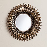 Luella Round Decorative Wall Mirror