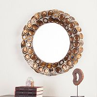 James Round Decorative Wall Mirror