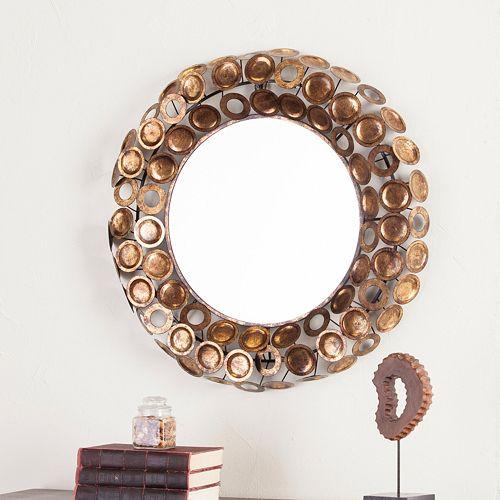 James Round Decorative Wall Mirror