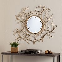Barnes Round Branch Wall Mirror