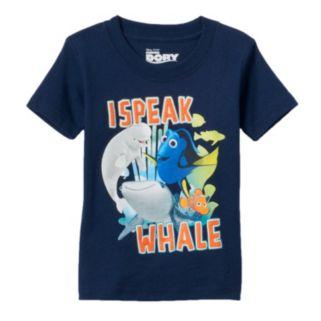 """Disney / Pixar Finding Dory Toddler Girl """"I Speak Whale"""" Tee"""